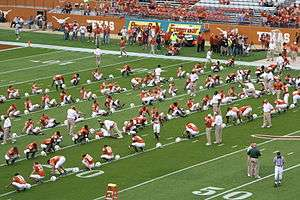 300px-Texas_football_Baylor_2006_warmups