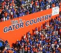 Gators student section