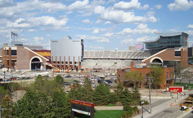 TCF Bank Stadium at Univ. of Minnesota