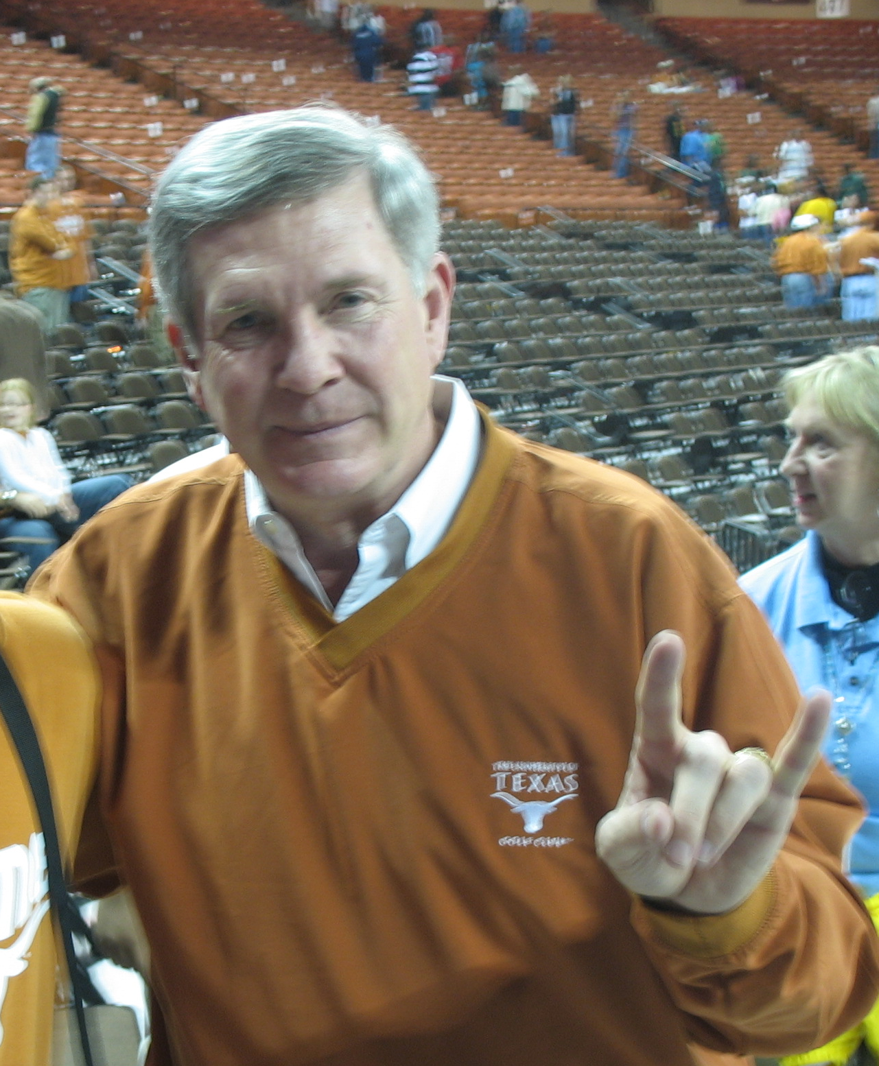 Texas Coach Mack Brown via WikiMedia Commons  (user: Corpx)