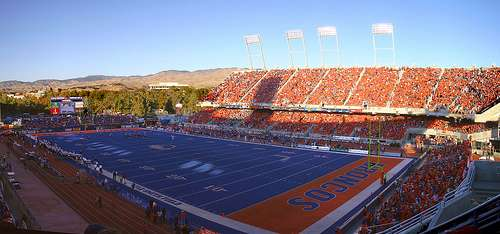 Boise State (via Flickr user BlueTurf)