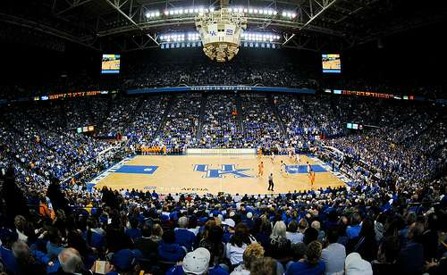 Kentucky's Rupp Arena (by Flickr user Tennessee Journalist)