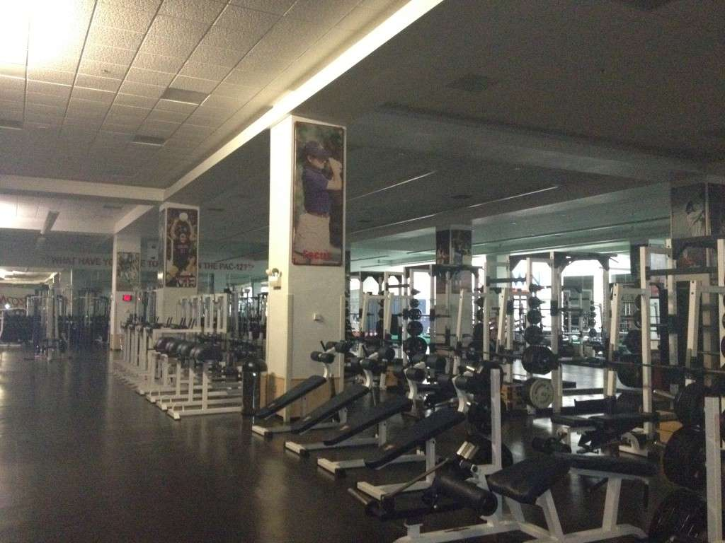 A look inside the Bill Estes, Jr. Family Strength and Conditioning Center in the McKale Center.