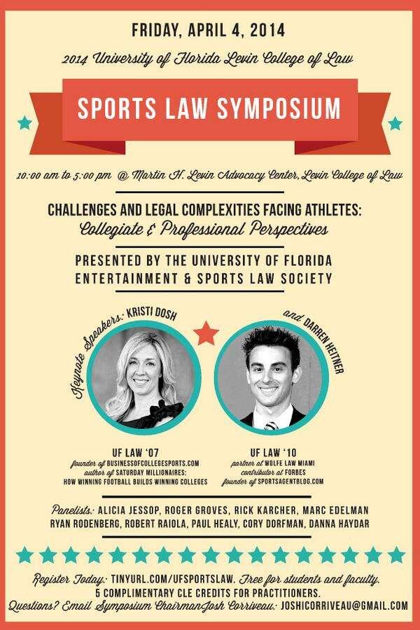 UF Sports Law Symposium