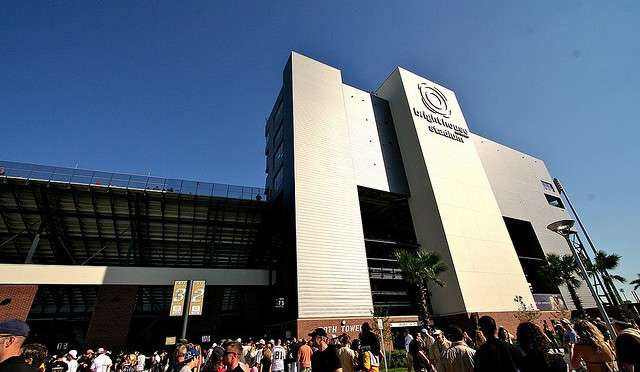 Brighthouse Networks Stadium at UCF (photo credit: Breezy Baldwin via Flickr)