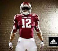 No. 12 jerseys will be the only ones available at retail for Texas A&M this year (photo credit: Adidas)