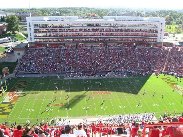Maryland's Byrd Stadium (Photo credit: David Berg via Flikr)