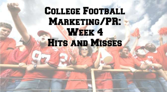 College football Week 4