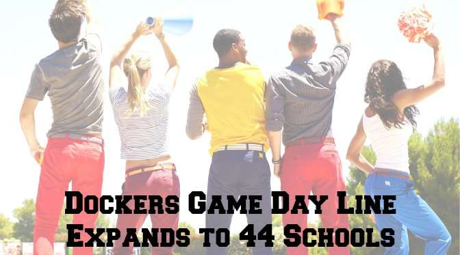 Dockers, collegiate apparel, collegiate licensing