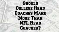 College coaches vs NFL coaches