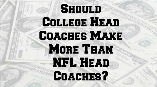College coaches vs NFL coaches