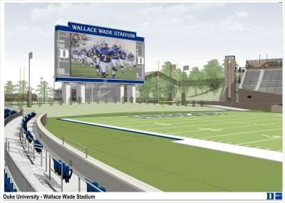 Duke - Wallace Wade Renovation