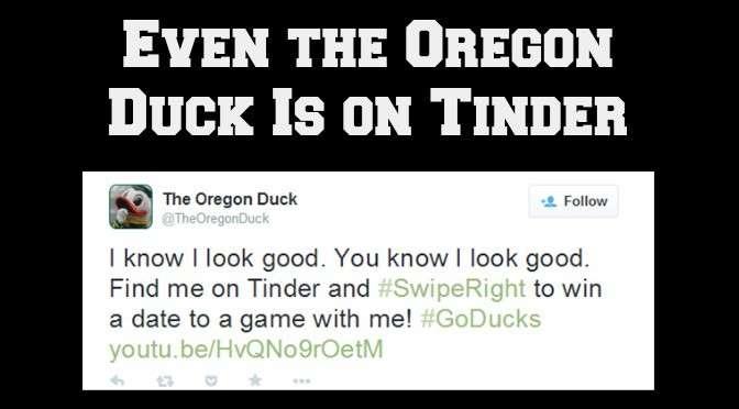 Oregon Duck on Tinder 2