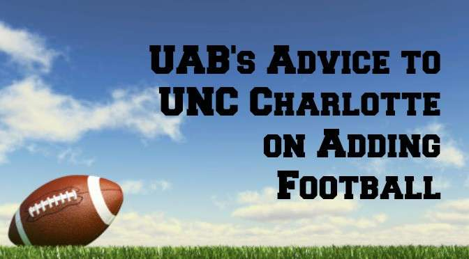 UAB to UNC Charlotte