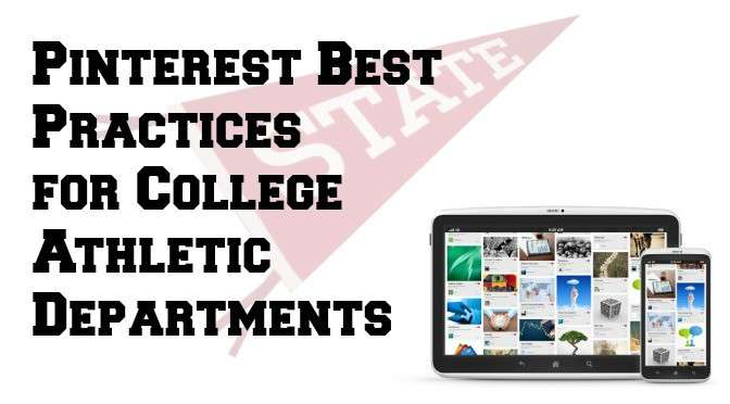 Pinterest for College Athletics