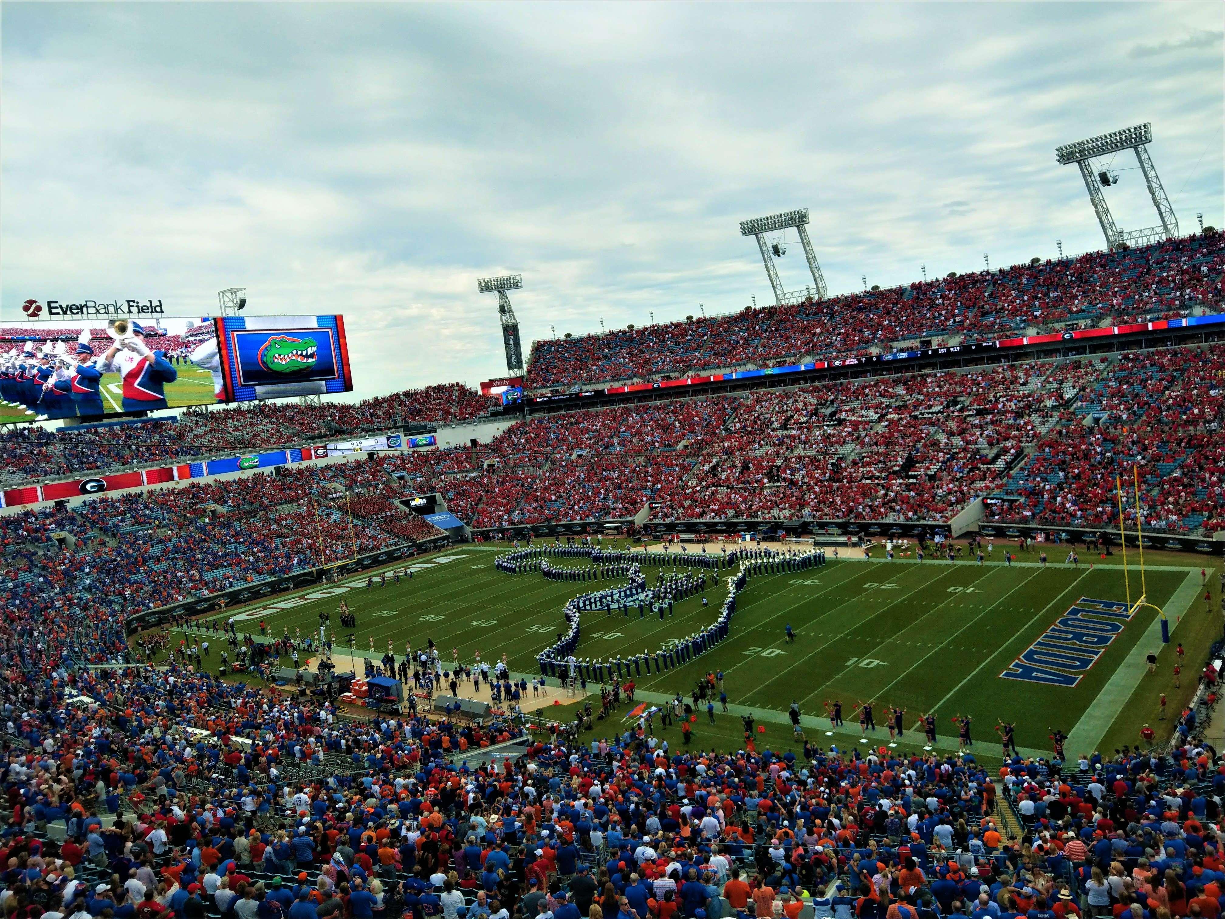 Florida-Georgia game in Jacksonville