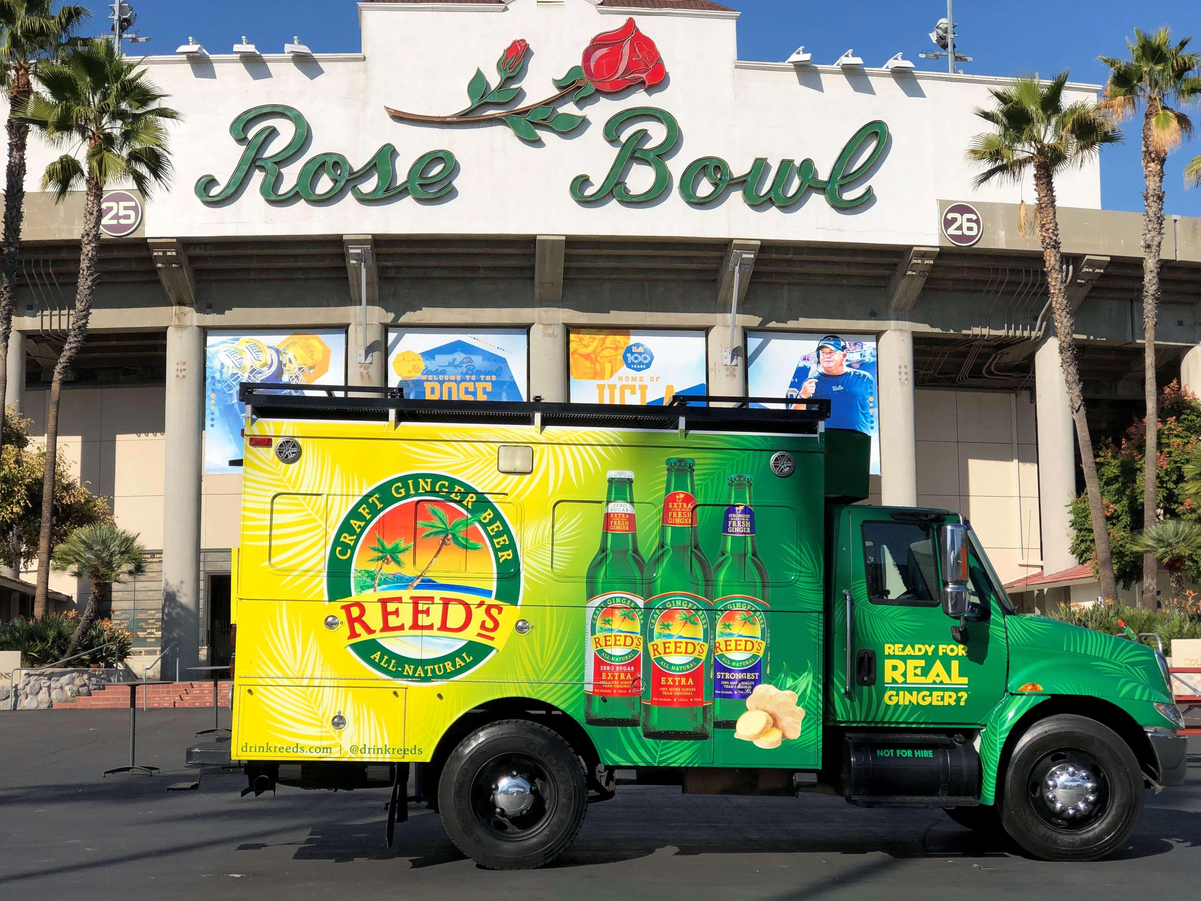 Reed's Ginger Beer Rose Bowl Stadium