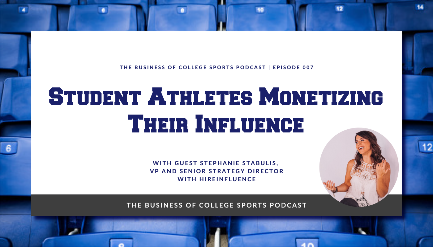 student athletes NIL influencer marketing