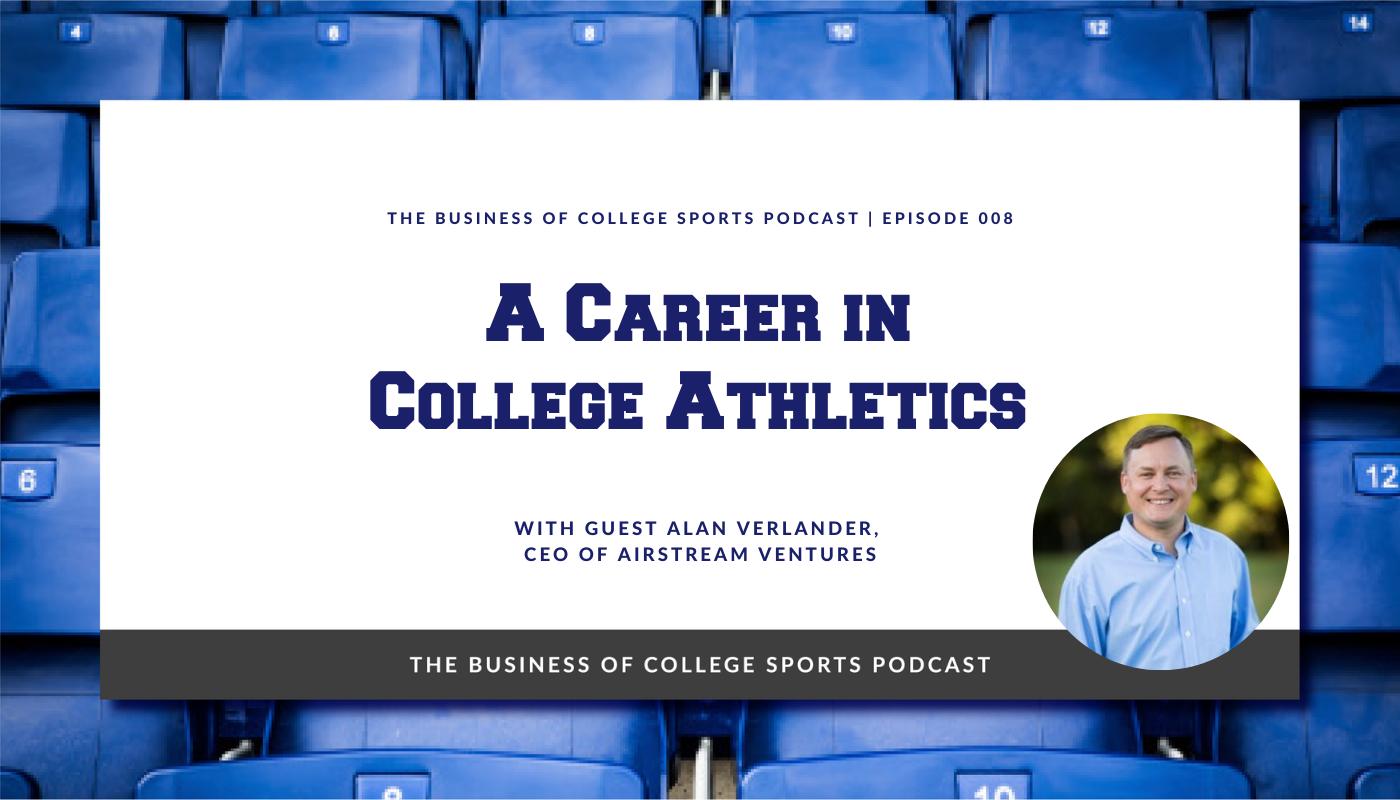 Alan Verlander Career in College Athletics