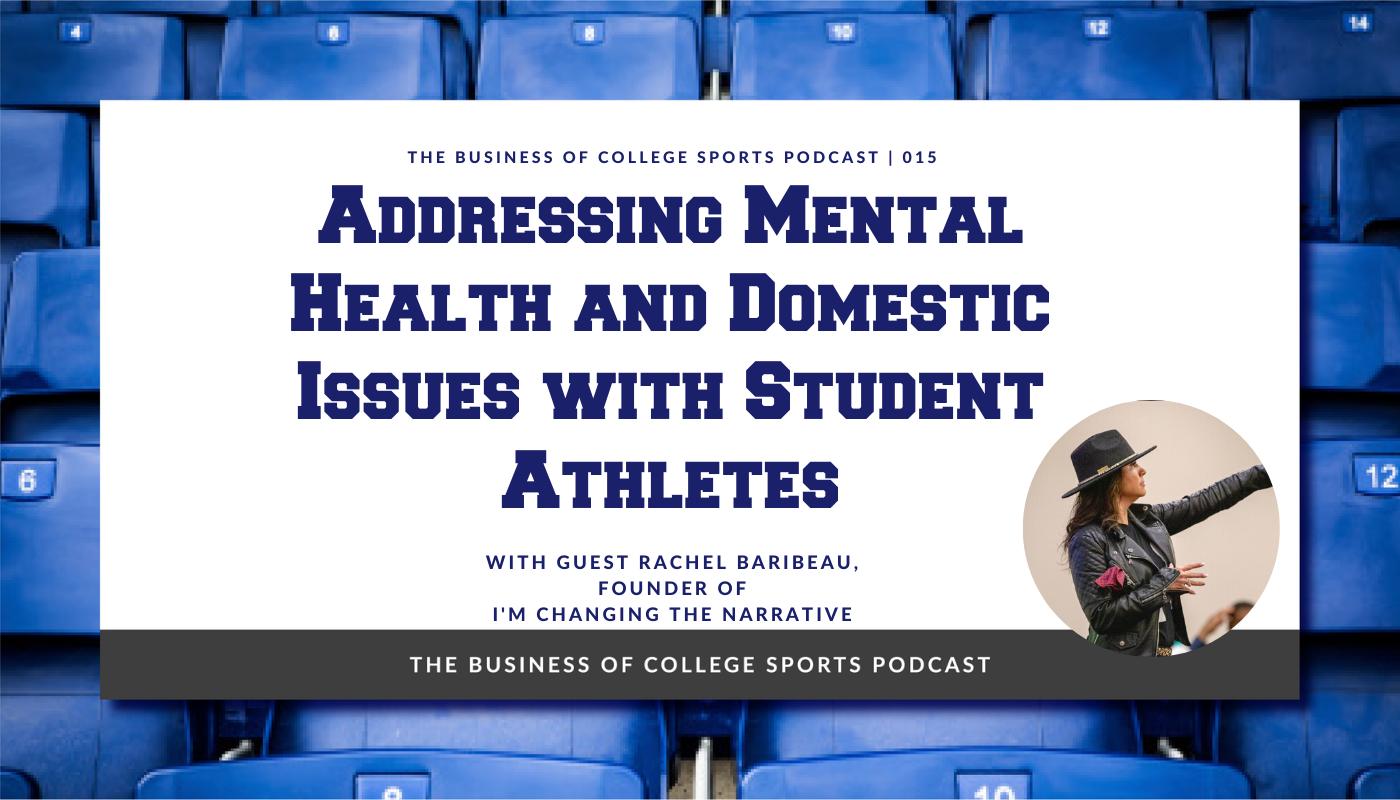 Rachel Baribeau student athlete mental health