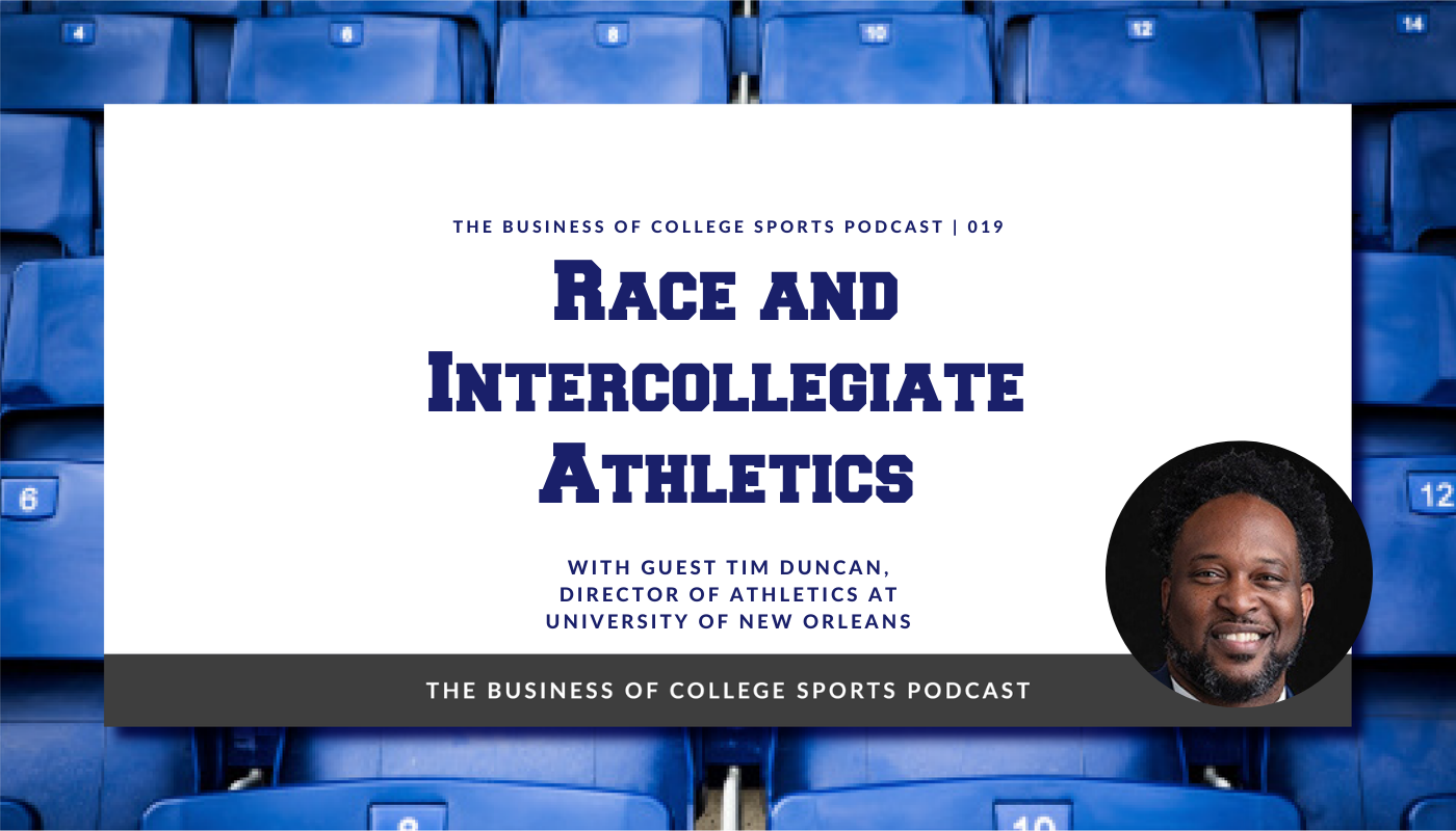 Tim Duncan Race and Intercollegiate Athletics