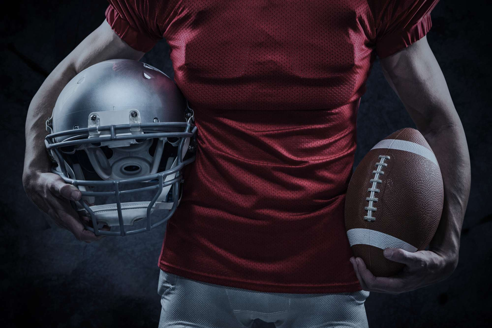 Blank red jersey for Redskins name change