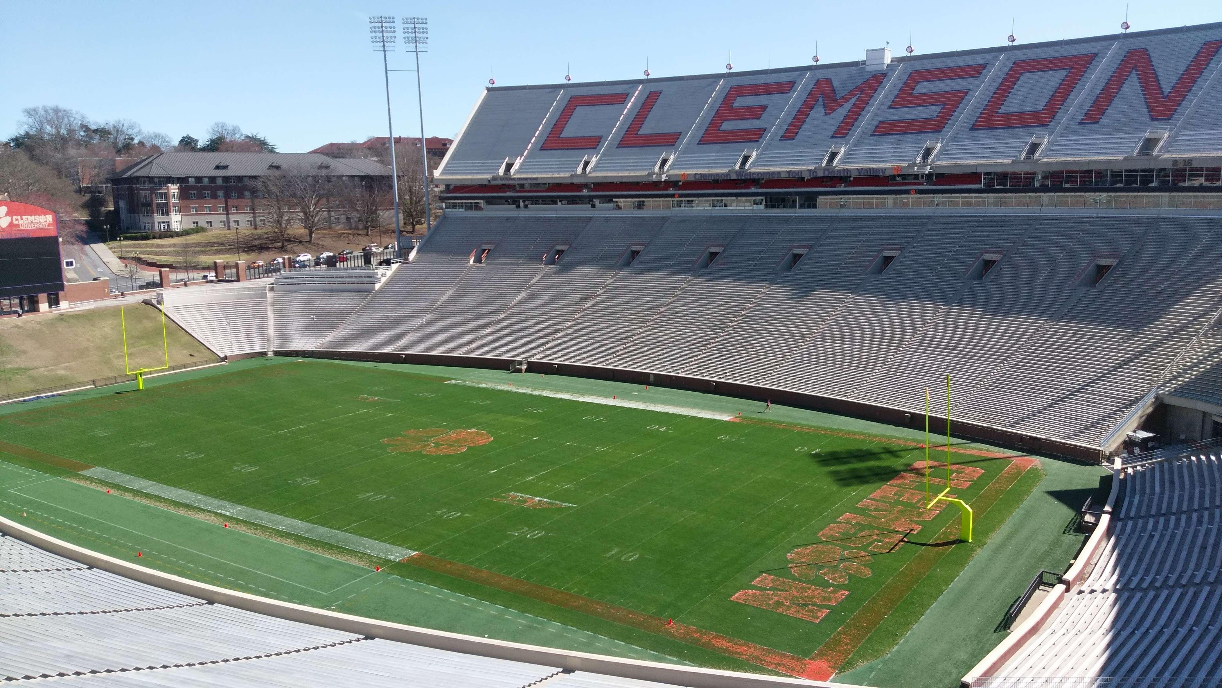 Clemson football stadium