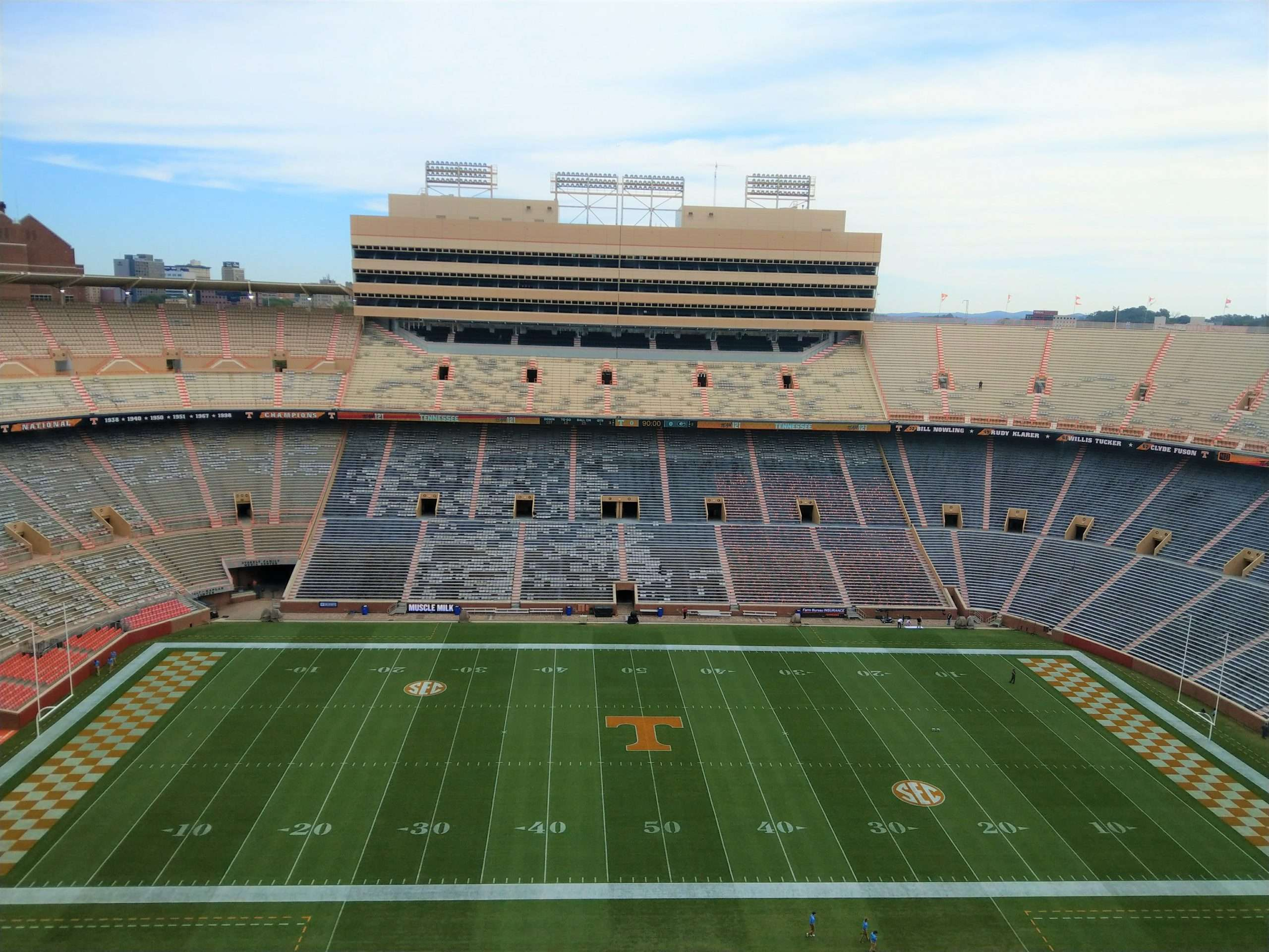 Tennessee football Neyland Stadium