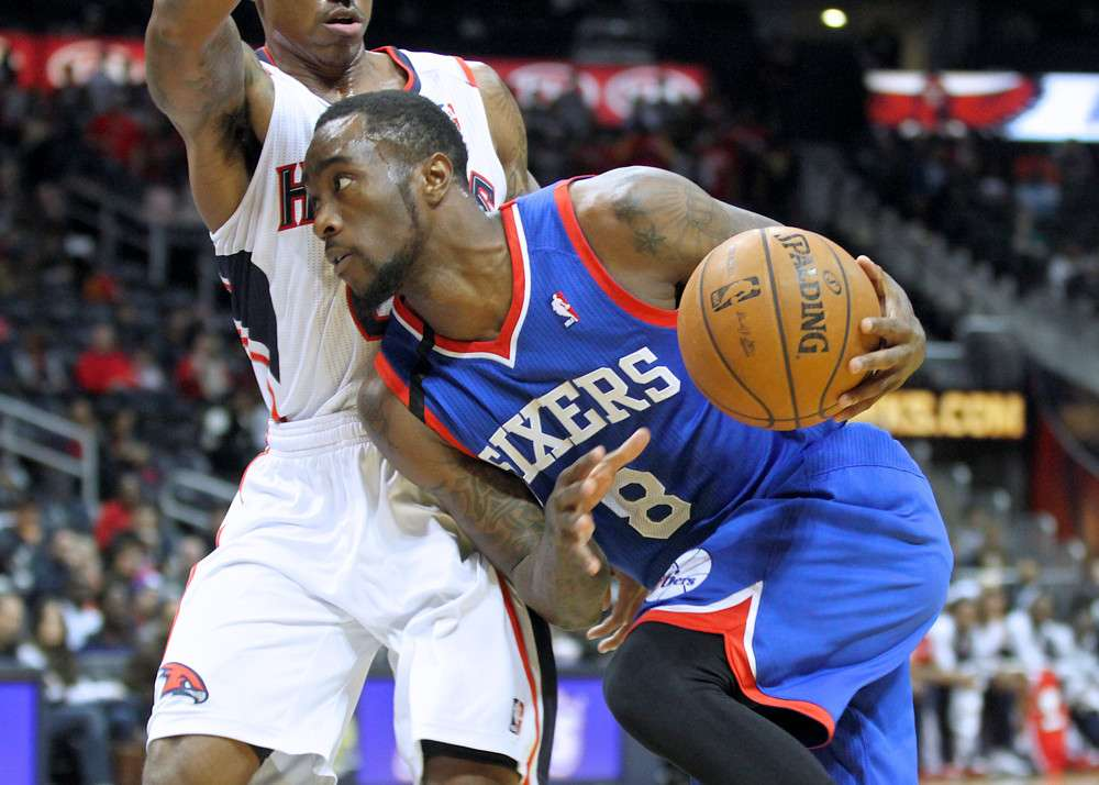 """76'ers guard Tony Wroten who was credited with first saying """"Trust the Process"""""""