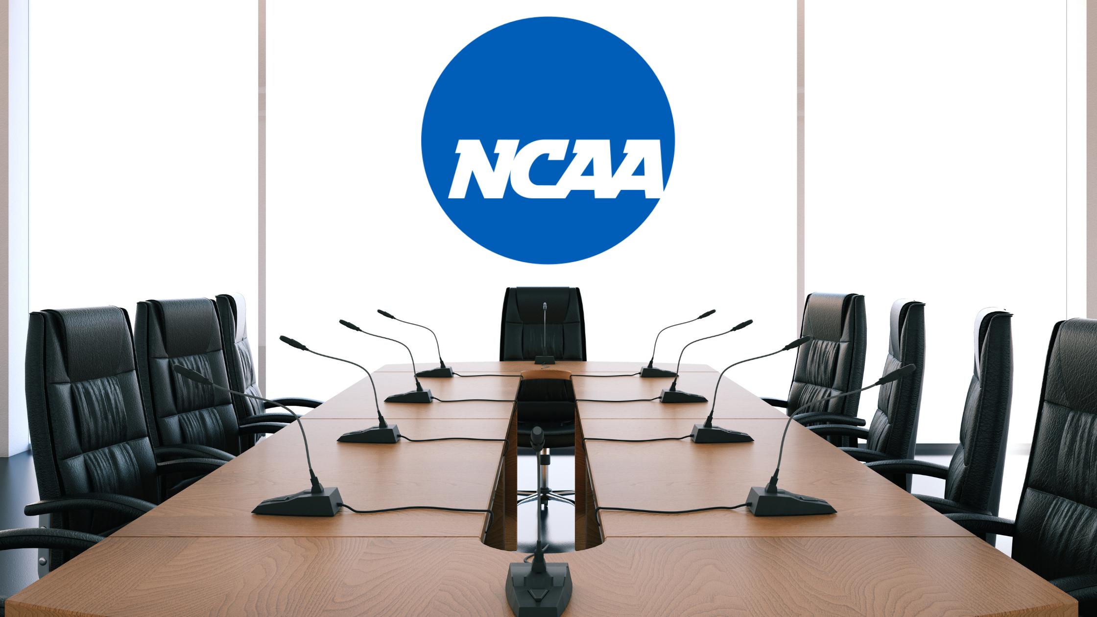 NCAA board room mock up